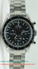 Omega Speedmaster HB-SIA GMT Working Chronograph OAM74