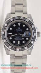 Rolex Submariner Automatique S/S Diamonds Bezel Sapphire RXM416