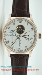 IWC Portuguese Automatique Tourbillon Working Power Reserve ICM132