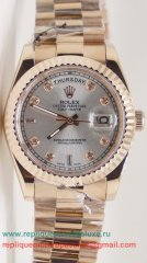 Rolex Day Date Automatique S/S 36MM RXM191