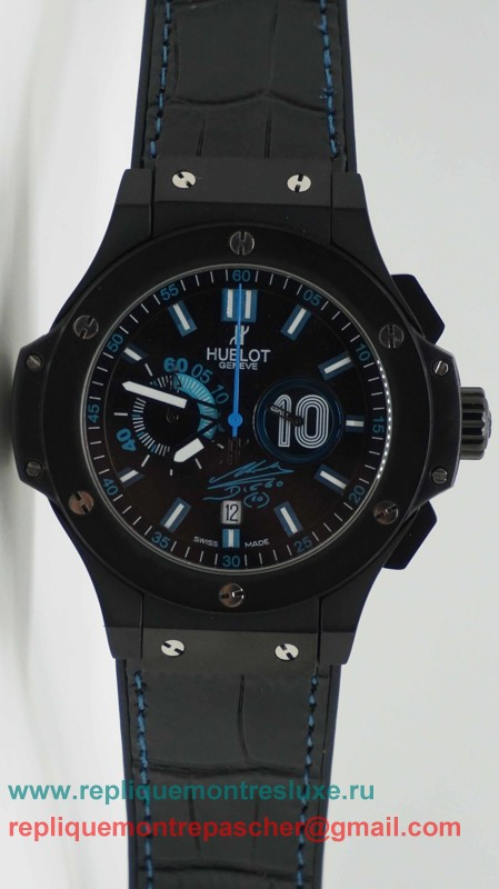 Hublot Big Bang Limited Edition Diego Maradona Working Chronograph HTM14