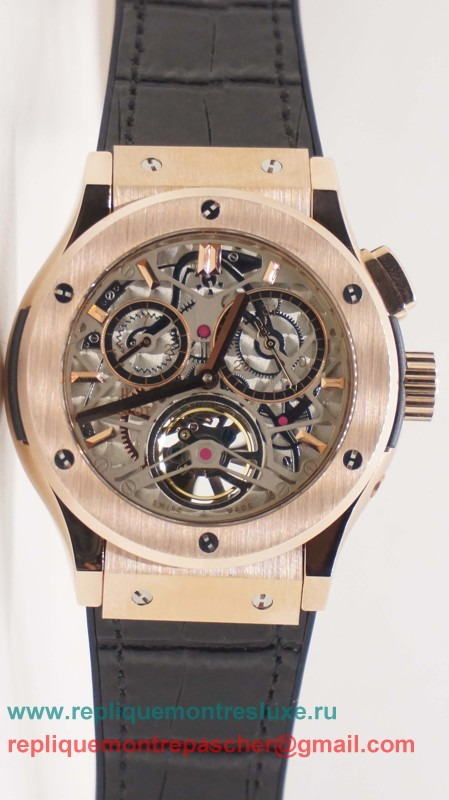 Hublot Automatique Skeleton HTM108