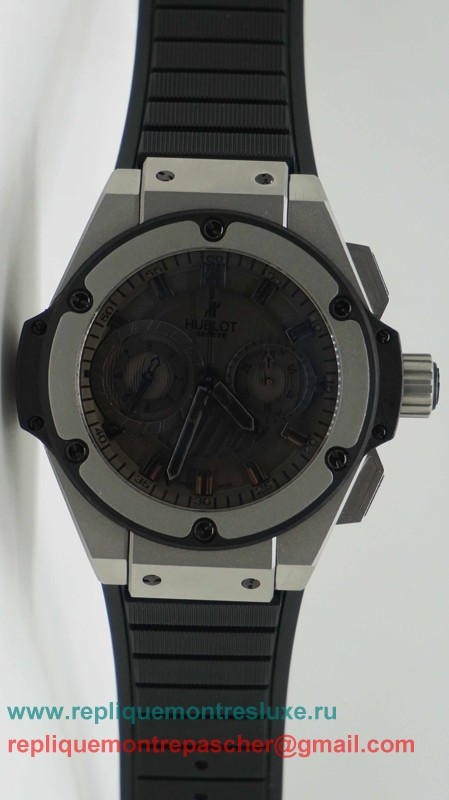Hublot King Power Asia Valjoux 7750 Automatique Working Chronograph HTM80