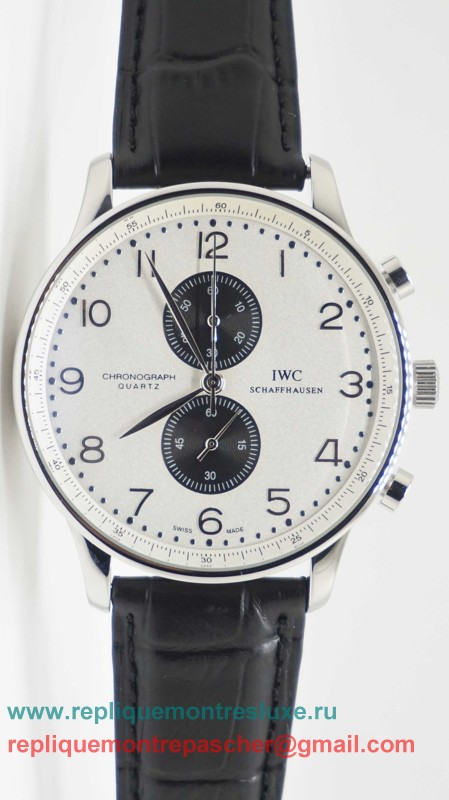 IWC Portuguese Working Chronograph ICM23