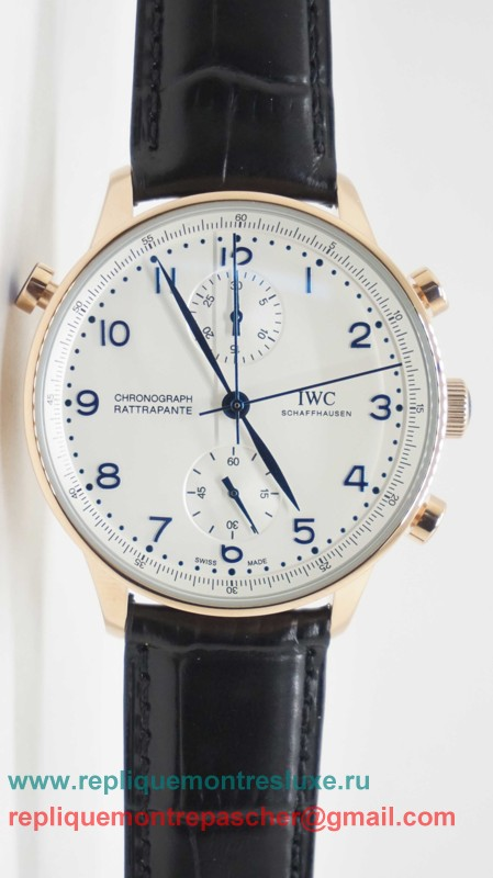 IWC Portuguese Working Chronograph ICM150