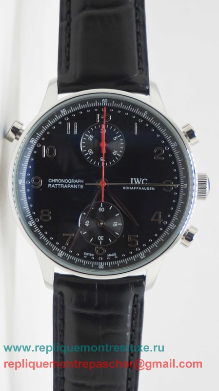 IWC Portuguese Working Chronograph ICM151
