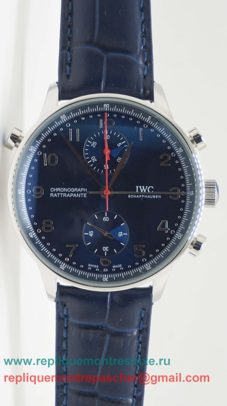 IWC Portuguese Working Chronograph ICM152