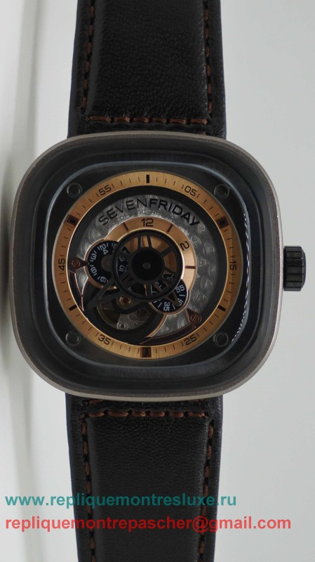 Sevenfriday P-Series Automatique Citizen Movement SYM5