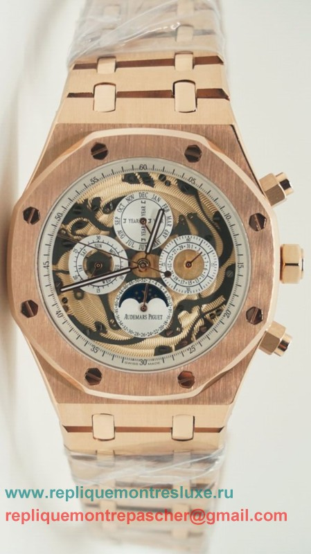 Audemars Piguet Royal Oak Automatique Moonphase S/S APM51