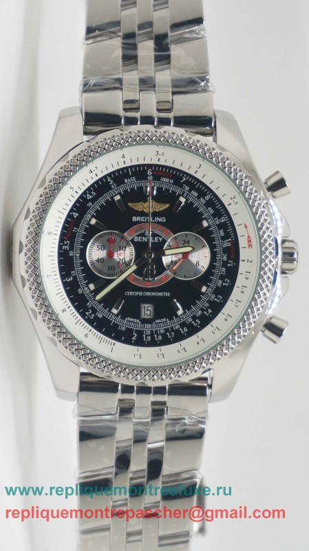 Breitling Bentley Working Chronograph S/S BGM40
