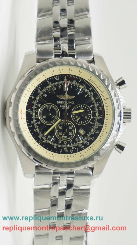 Breitling Bentley Working Chronograph S/S BGM22
