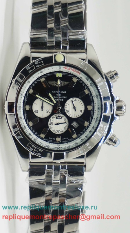 Breitling Chronomat Evolution Working Chronograph S/S BGM73