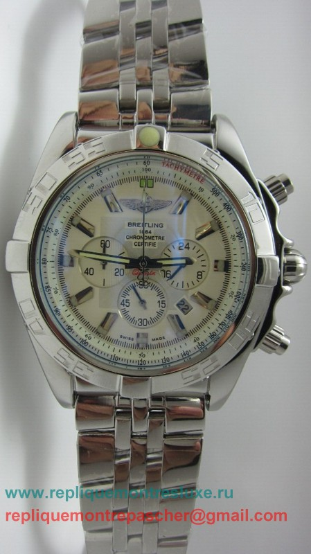 Breitling Chronomat Evolution Working Chronograph S/S BGM128