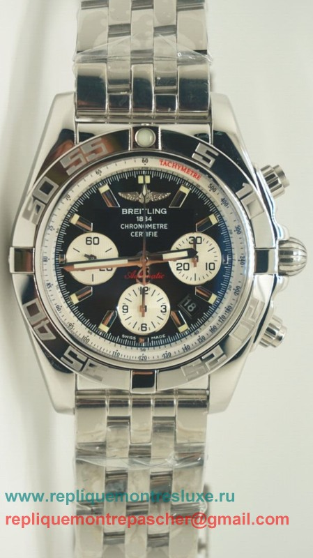 Breitling Chronomat Evolution Valjoux 7750 Automatique S/S BGM141
