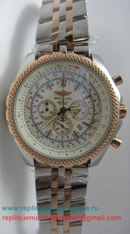 Breitling Bentley Working Chronograph S/S BGM206