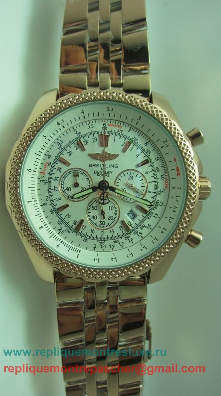 Breitling Bentley Working Chronograph S/S BGM212