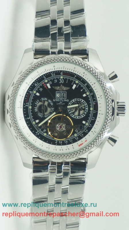 Breitling Bentley Automatique Tourbillon S/S BGM54