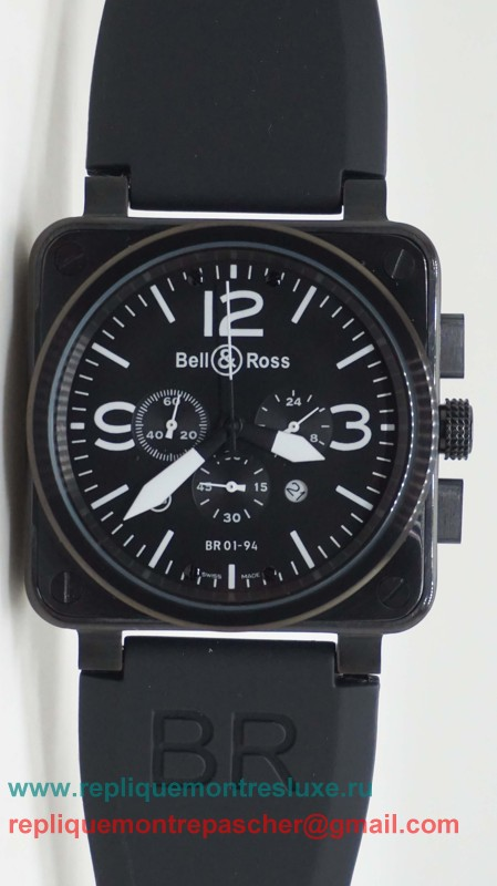 Bell & Ross BR01-94 Working Chronograph BRM13