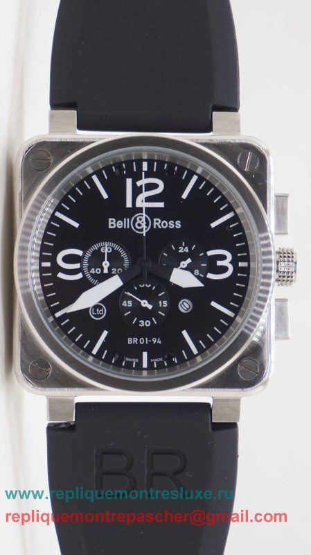 Bell & Ross BR01-94 Working Chronograph BRM22