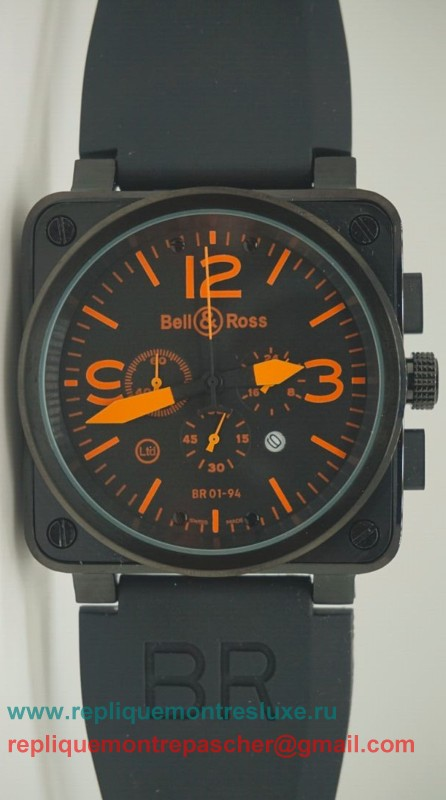 Bell & Ross BR01-94 Working Chronograph BRM30