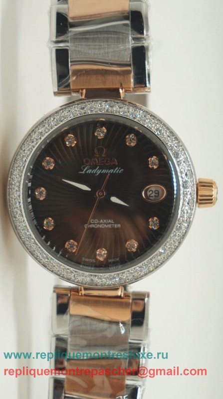 Omega Ladymatic Quartz Diamond Bezel OAL15