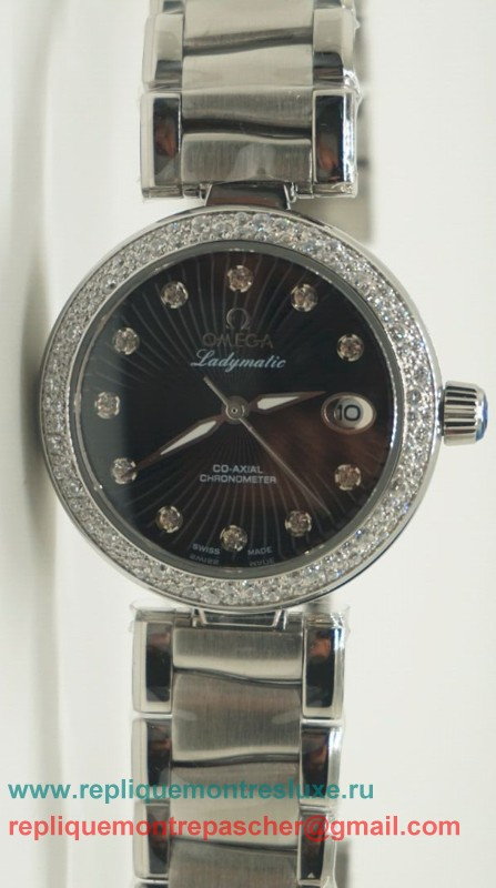 Omega Ladymatic Quartz Diamond Bezel OAL16