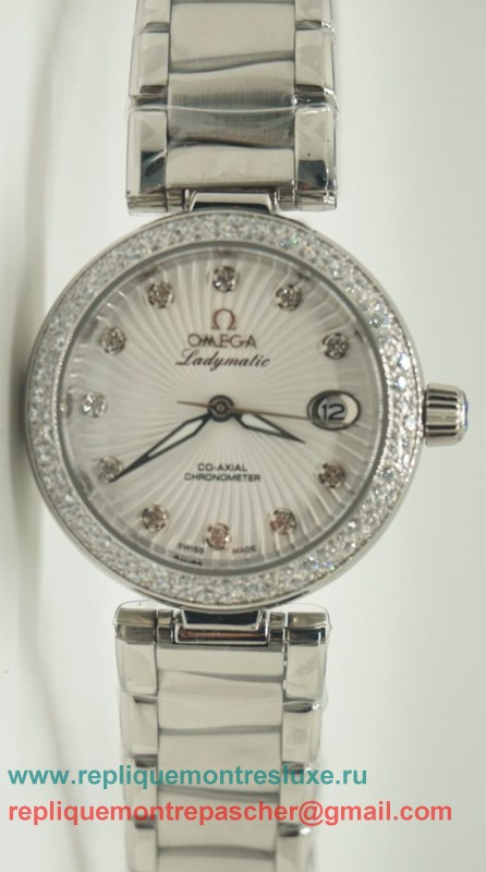Omega Ladymatic Quartz Diamond Bezel OAL17