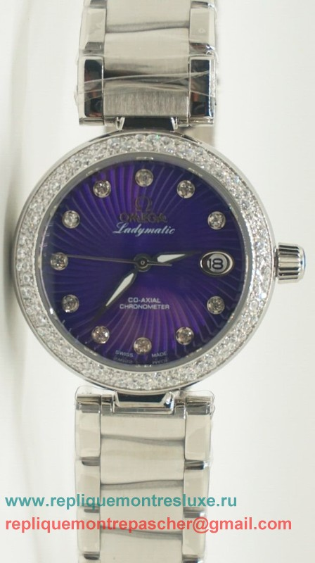 Omega Ladymatic Quartz Diamond Bezel OAL18
