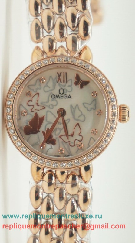 Omega Quartz Diamond Bezel OAL22