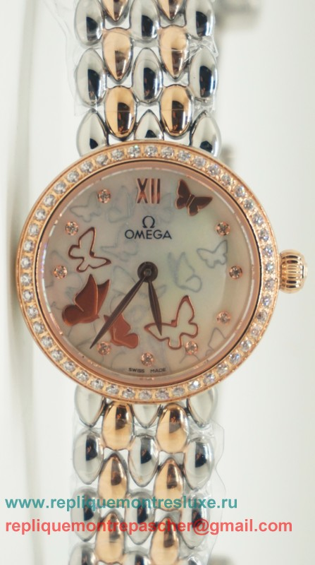 Omega Quartz Diamond Bezel OAL24