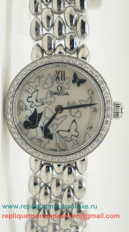 Omega Quartz Diamond Bezel OAL25