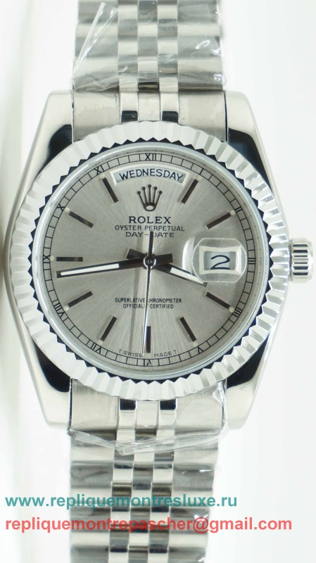 Rolex Day Date Automatique S/S 36MM RXM108