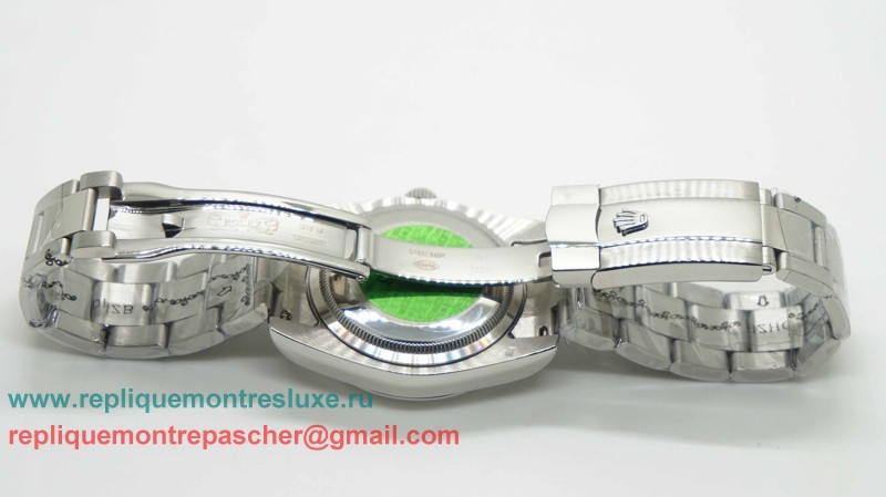 Rolex Date Just Automatique S/S 36MM Sapphire RXM179