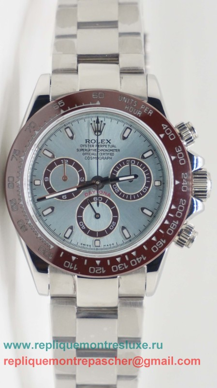 Rolex Daytona Asia Valjoux 7750 Automatique Working Chronograph S/S Ceramic RXM206