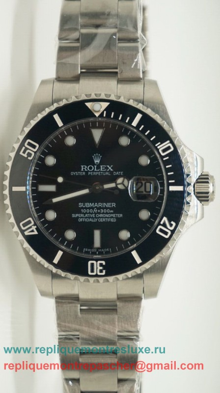 Rolex Submariner Automatique S/S Ceramic Bezel Sapphire 44MM RXM208