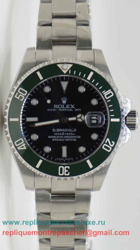 Rolex Submariner Automatique S/S Ceramic Bezel Sapphire 44MM RXM210