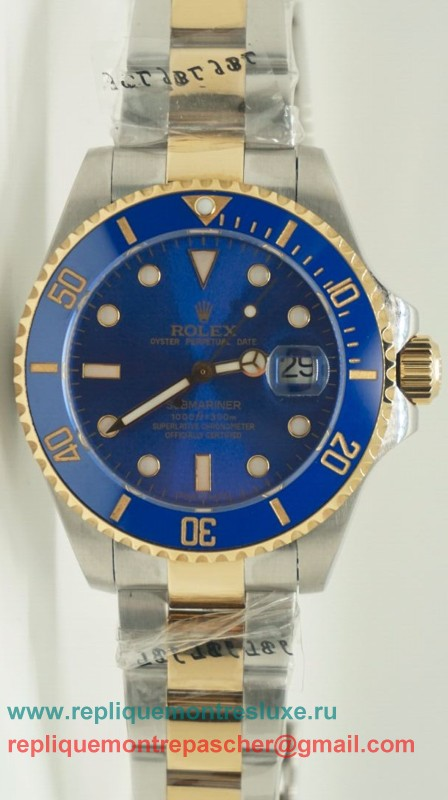Rolex Submariner Automatique S/S Ceramic Bezel Sapphire 44MM RXM215