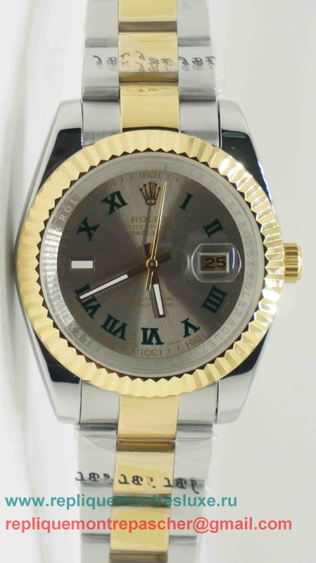 Rolex Date Just Automatique S/S 41MM Sapphire RXM217