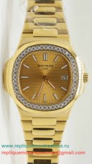 Patek Philippe Quartz Diamonds Bezel S/S PPM83