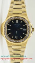 Patek Philippe Quartz Diamonds Bezel S/S PPM84