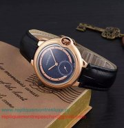 Replique Montre Cartier Ballon bleu de Cartier Quartz CRLN09