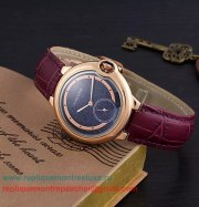 Replique Montre Cartier Ballon bleu de Cartier Quartz CRLN10