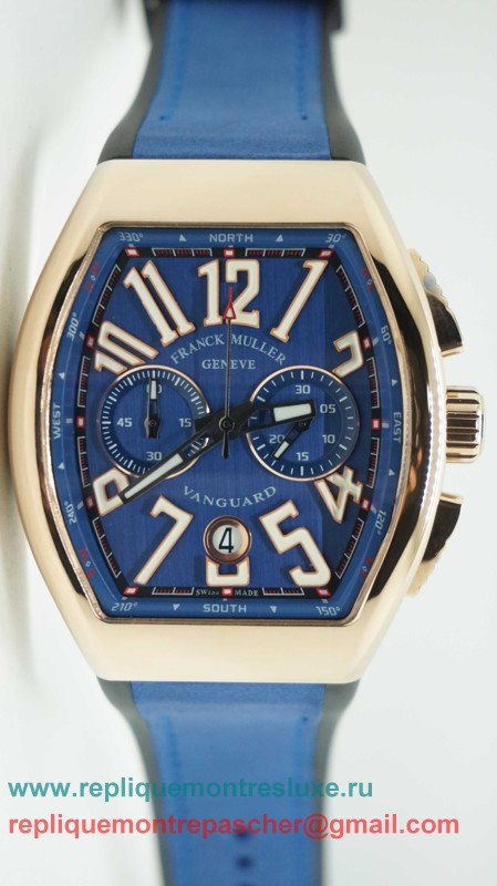Franck Muller Vanguard Working Chronograph FMM77