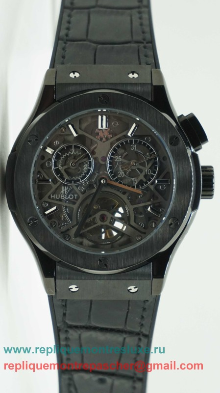 Hublot Automatique Skeleton HTM107