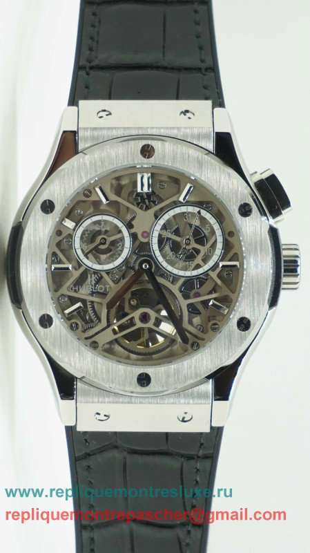 Hublot Automatique Skeleton HTM109