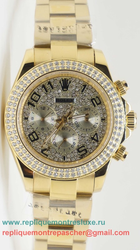 Rolex Daytona Automatique Diamonds S/S RXM340