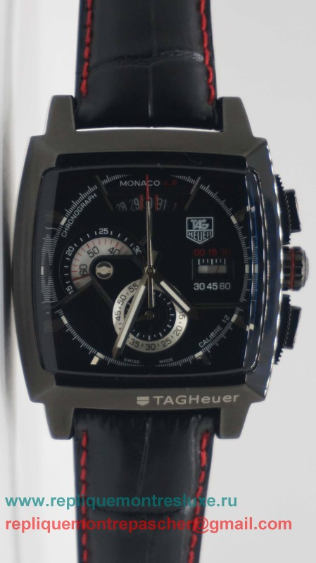 Tag Heuer Monaco Calibre 12 Working Chronograph THM4