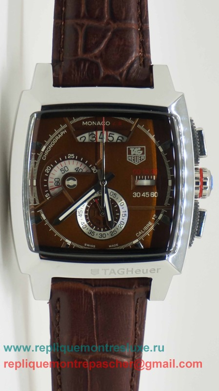 Tag Heuer Monaco Calibre 12 Working Chronograph THM67