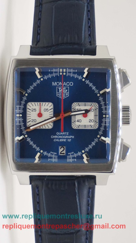 Tag Heuer Monaco Calibre 12 Working Chronograph THM105