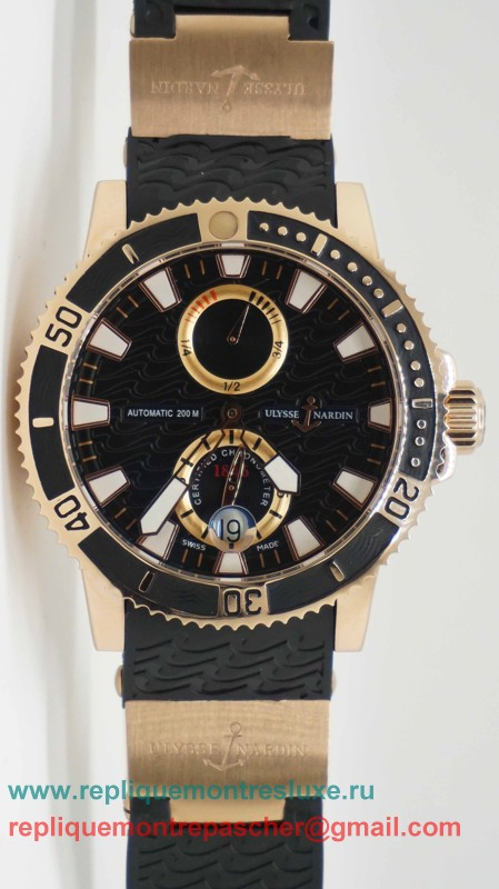 Ulysse Nardin Marine Two Time Zone Automatique UNM21